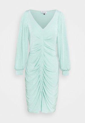 PLEATED FRONT PENCIL DRESS - Shift dress - mint
