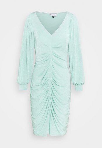 PLEATED FRONT PENCIL DRESS - Etuikjole - mint