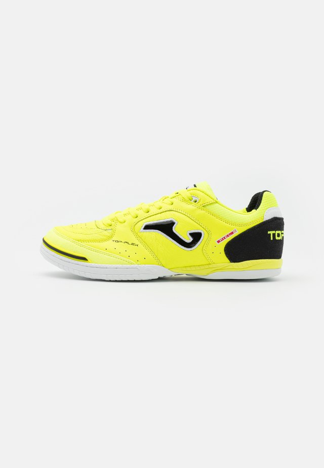 TOP FLEX - Indoor football boots - yellow