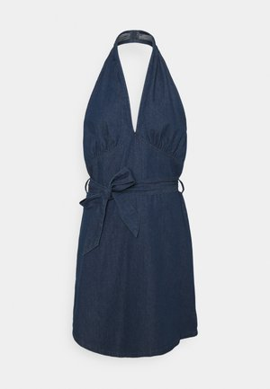 YOUNG LADIES WOVEN DRESS - Denim dress - denim