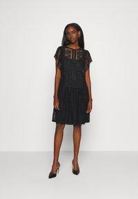 Alberta Ferretti - DRESS - Day dress - black - 1