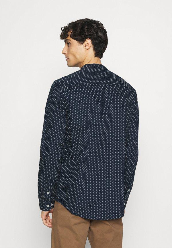 Pier One Koszula - dark blue/granatowy Odzież Męska CIMW