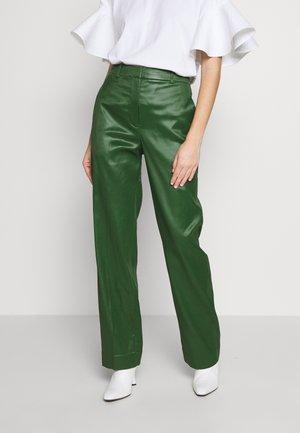 FULL LEG TROUSER - Kalhoty - vetiver green