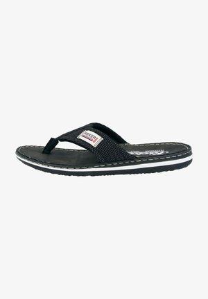 T-bar sandals - black/grey