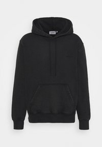 HOODED MOSBY - Mikina - black