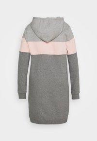Even&Odd Curvy - Day dress - pink/grey - 1