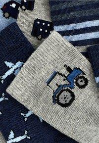Next - 7 PACK - Socks - blue - 8