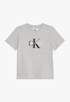 MONOGRAM LOGO - T-shirt con stampa - light grey heather