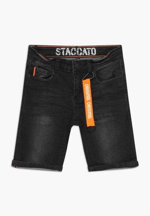 BERMUDAS TEENAGER - Shorts vaqueros - black denim