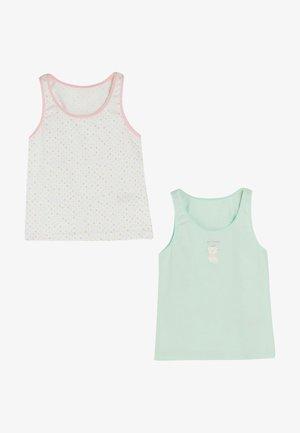 2ER PACK - Undershirt - white