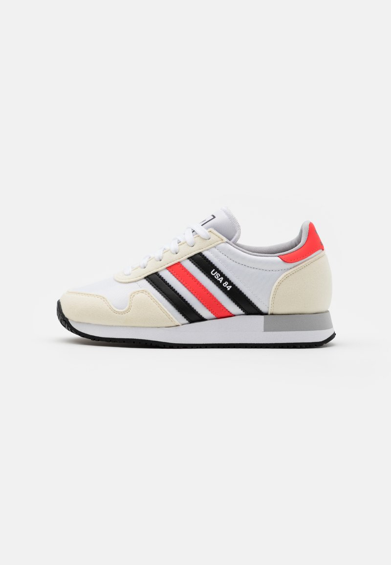 adidas Originals - USA 84 CLASSIC RUNNING SPORTS INSPIRED SHOES UNISEX - Tenisky - footwear white/core black/solar red