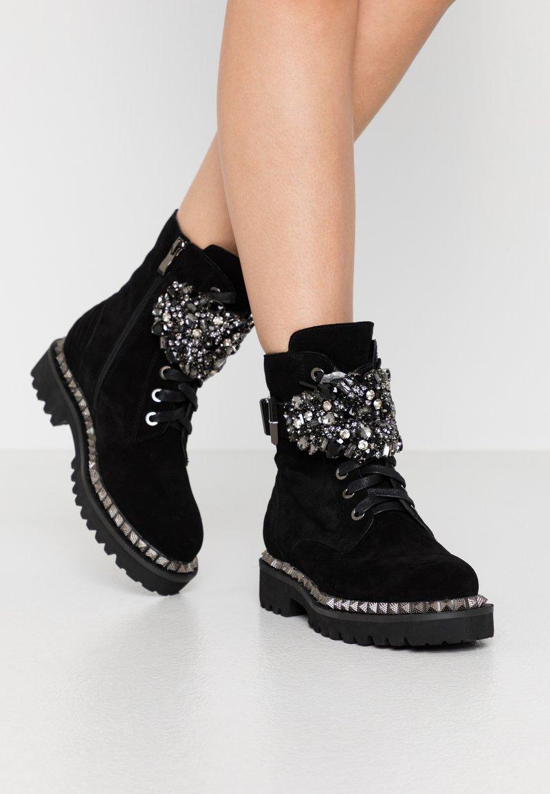 Alma en Pena - Lace-up ankle boots - black