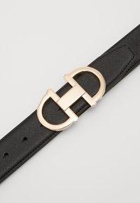 ALDO - GORLENKO - Belt - black/gold-coloured - 2