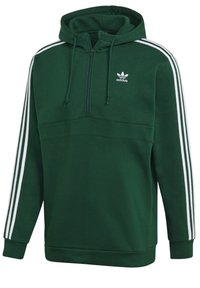 adidas Originals - STRIPES HOODIE - Hoodie - green - 9