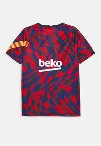 Nike Performance - FC BARCELONA DRY - Artykuły klubowe - university red/university red/amarillo - 1