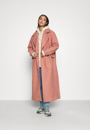 MAXI COAT - Kåpe / frakk - dusty pink