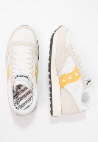 Saucony - JAZZ VINTAGE - Trainers - cement/yellow - 3