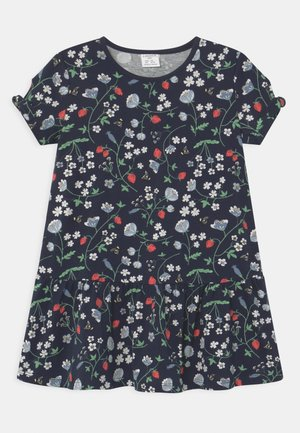 MINI STRAWBERRY - Jersey dress - navy