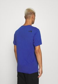 The North Face - FINE TEE - T-shirts med print - blue - 2