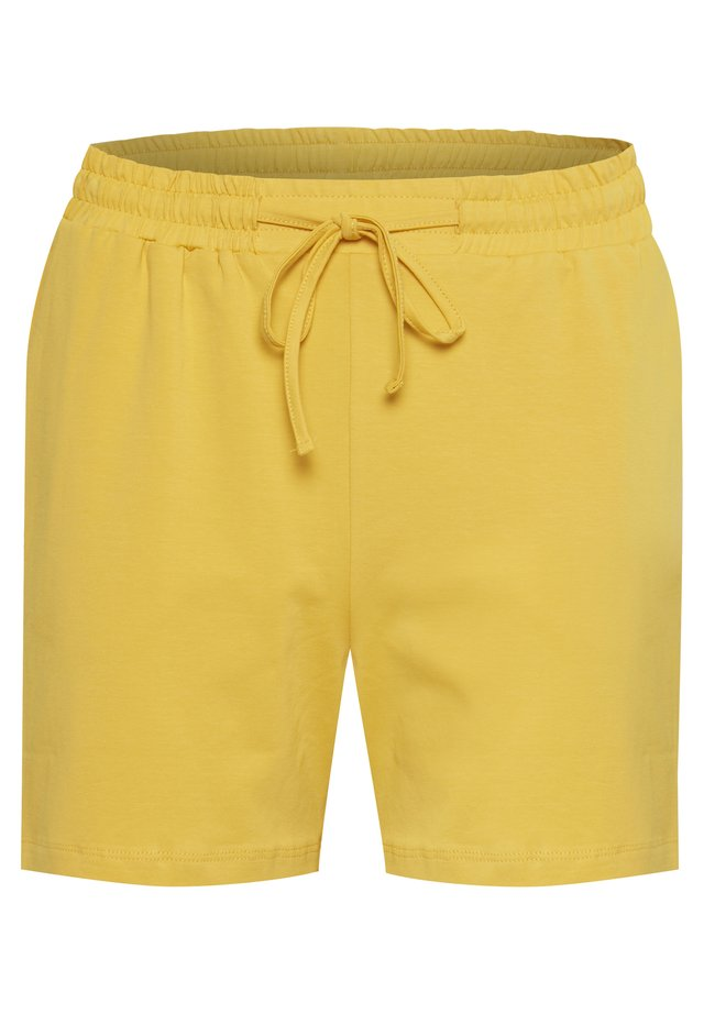 LINDA - Shorts - yellow