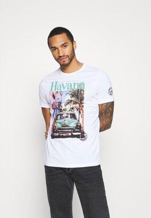 CAYOX - Print T-shirt - white