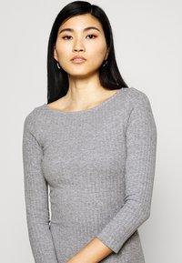 Anna Field - Jumper dress - mottled grey - 4
