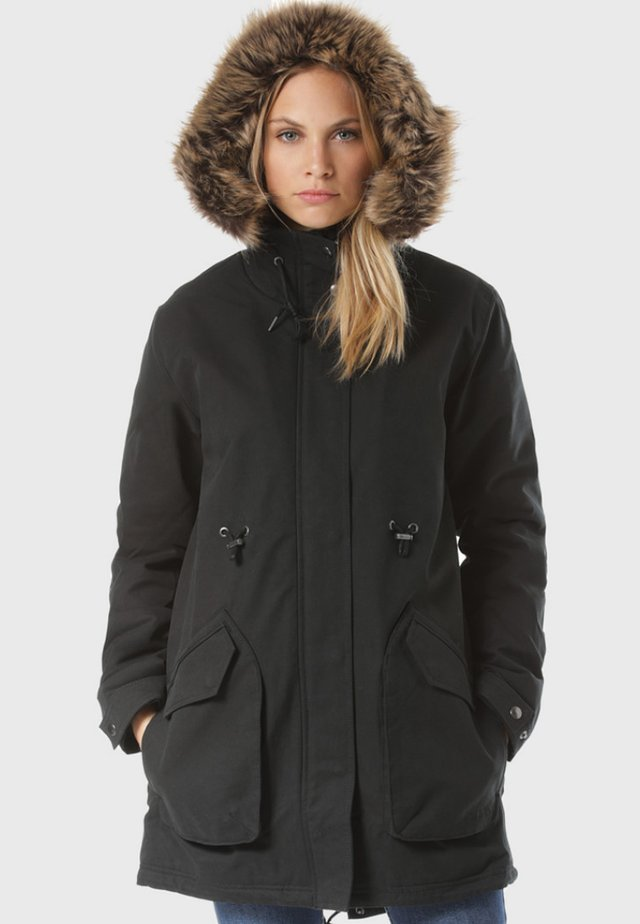 LESS IS MORE - Winter coat - black
