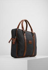Pier One - Briefcase - black/brown - 3