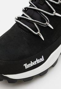Timberland - BROOKLYN EURO SPRINT - High-top trainers - black - 5