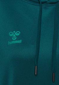 Hummel - CORE HOODIE WOMAN - Hoodie - blue coral - 2