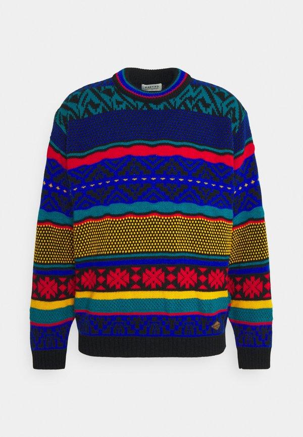 Kaotiko 90´S PHILADELPHIA UNISEX - Sweter - multi-coloured/wielokolorowy Odzież Męska ZWSK