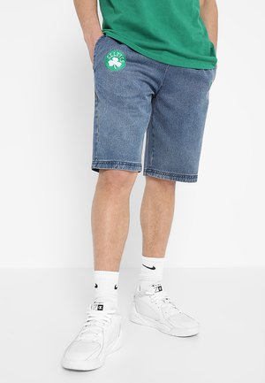 NBA BOSTON CELTICS - Korte broeken - denim