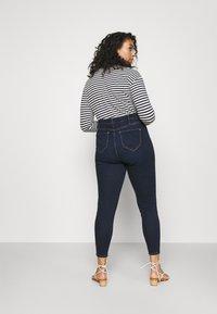 River Island Plus - Jeans Skinny Fit - dark auth - 2