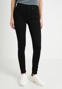 J.CREW TALL - TOOTHPICK - Jeans Skinny Fit - true black - 0