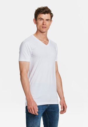 2-PACK - Basic T-shirt - white