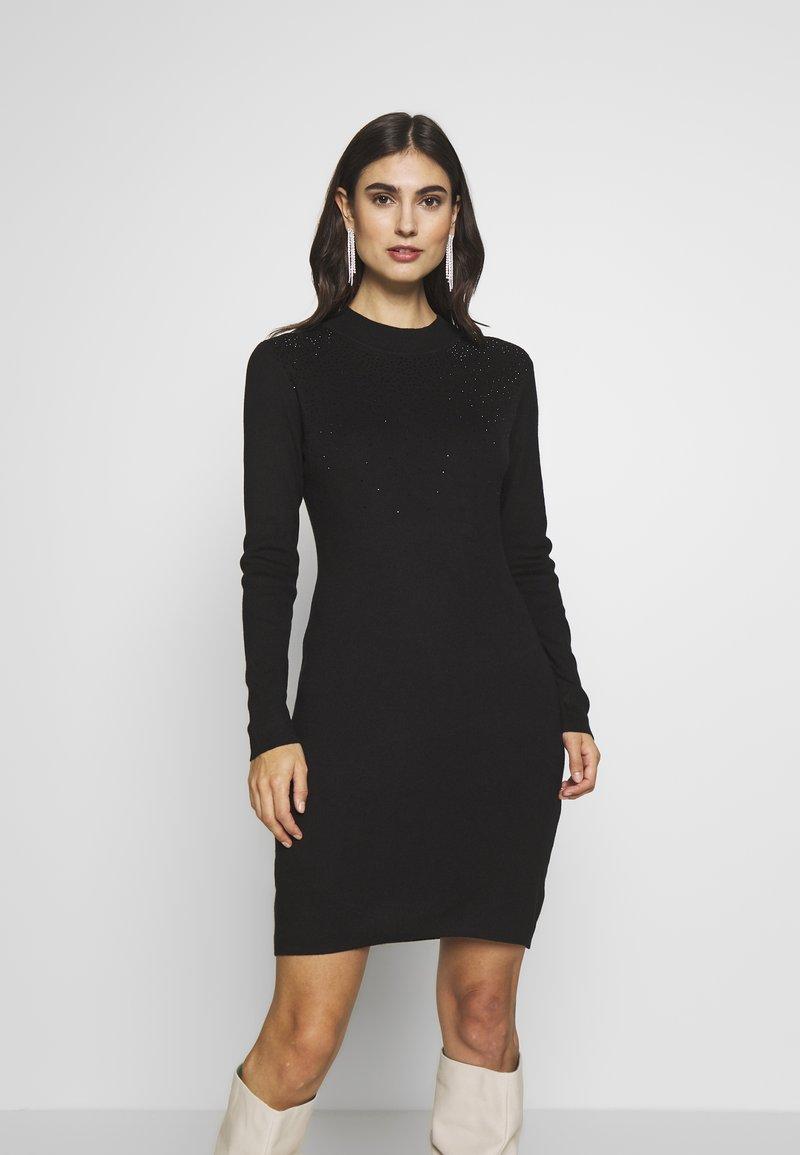 Esprit Collection - Pletené šaty - black