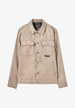 Light jacket - mottled beige