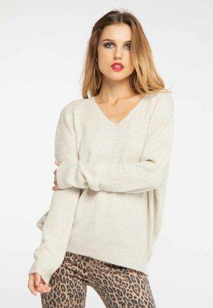Trui - wool white