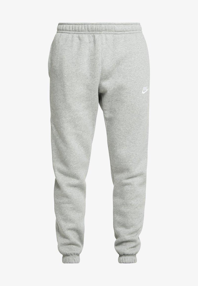 Nike Sportswear Club Pant Tracksuit Bottoms Dark Grey Heather Silver Zalando Co Uk