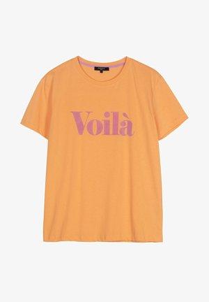 CHERVIS - Camiseta estampada - orange