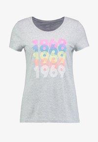 GAP - CREW - T-shirts print - grey heather - 4