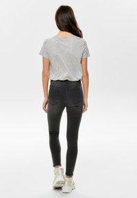 ONLY - Print T-shirt - light grey - 2
