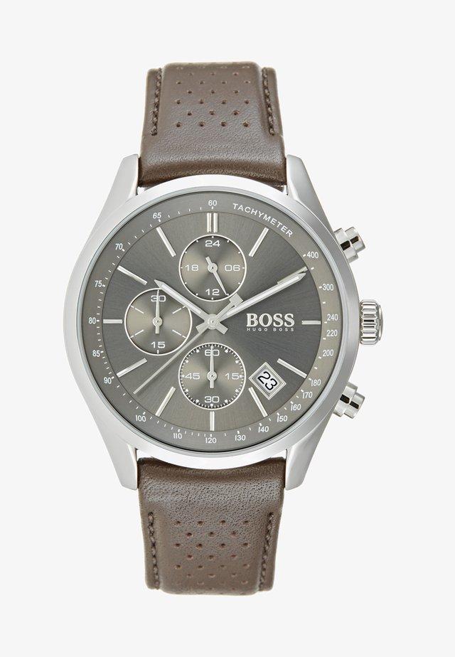 Kronografklokke - grau