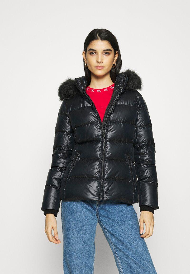 Calvin Klein - ESSENTIAL JACKET - Dunjakke - black