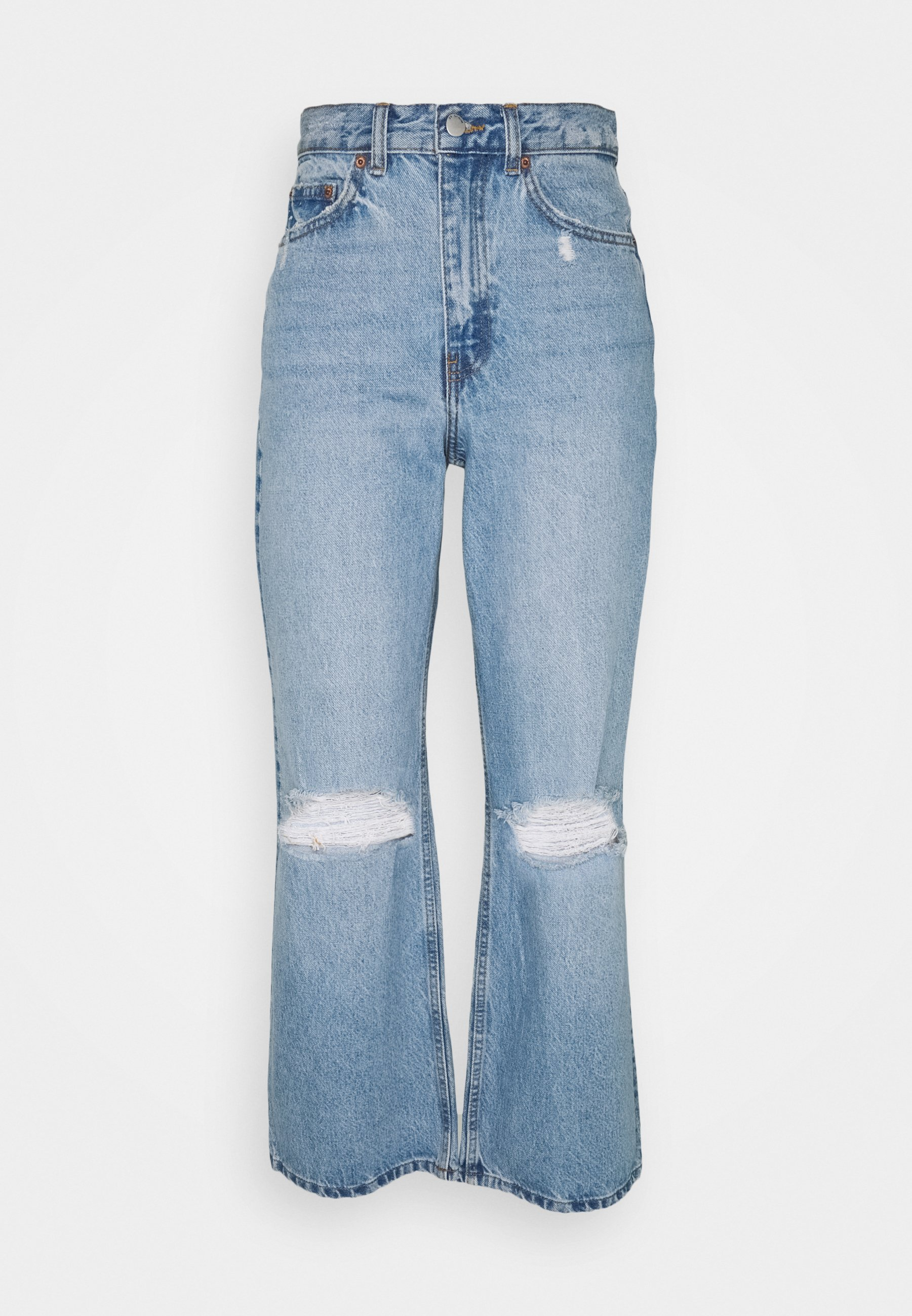 Donna ECHO - Jeans baggy - blue jay
