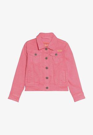 TOSCANE - Denim jacket - neon pink