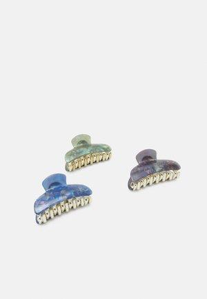 PCBUNNY HAIRSHARKS 3 PACK - Hair styling accessory - dahlia purple/misty rose/eggnog