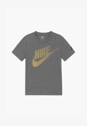 CLUB FUTURA GRAPHIC TEE - T-shirt con stampa - mottled grey