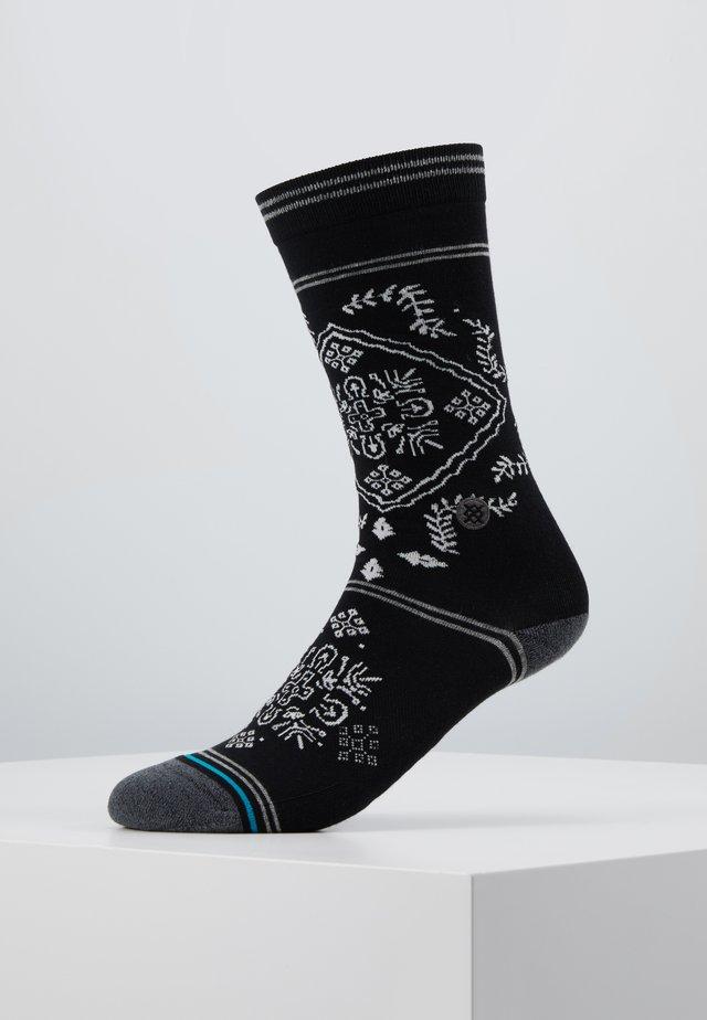 BANDERO - Ponožky - black