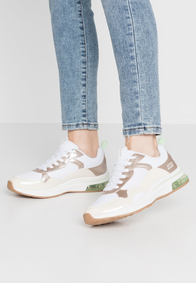 BOBS AIR - Sneakersy niskie - offwhite/lime